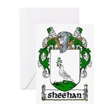 Sheehan Coat of Arms Greeting Cards (Pk of 20)