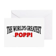 """""""The World's Greatest Poppi"""" Greeting Cards (Pk of"""