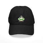 Cheerleader Penguin Black Cap