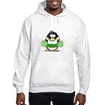 Cheerleader Penguin Hooded Sweatshirt