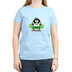 Cheerleader Penguin Women's Light T-Shirt