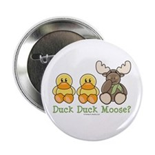 Funny Duck Duck Moose Button