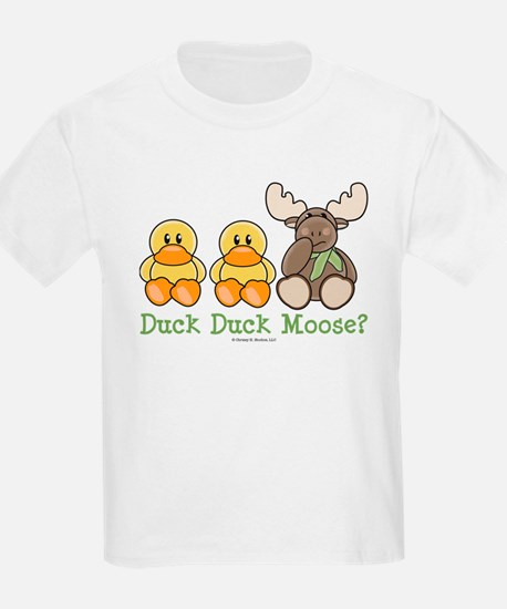 Funny Duck Duck Moose T-Shirt