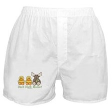 Funny Duck Duck Moose Boxer Shorts