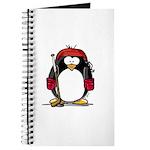 Red Hockey Penguin Journal