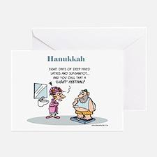 Hanukkah Festival Of Lights Pk 20 Greeting Cards