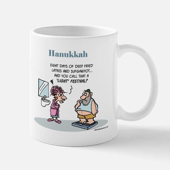 Hanukkah Festival Of Lights Mug Mugs