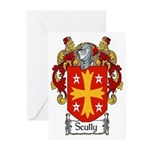 Scully Coat of Arms Greeting Cards (Pk of 20)