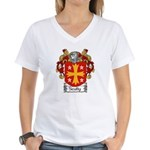 Scully Coat of Arms Women's V-Neck T-Shirt