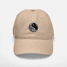 Yin Yang for balance. Baseball Baseball Cap