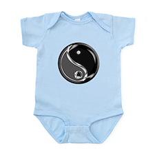 Yin Yang for balance. Infant Bodysuit