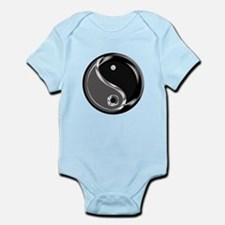 Yin Yang for balance. Infant Bodysuit