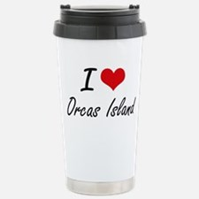 I love Orcas Island Was Travel Mug