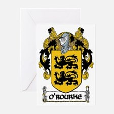 O'Rourke Coat of Arms Greeting Cards (Pk of 20)