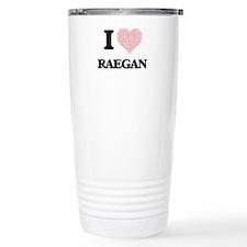 I love Raegan (heart ma Travel Coffee Mug