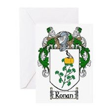 Ronan Coat of Arms Greeting Cards (Pk of 20)