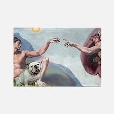 Creation / English BD (#9) Rectangle Magnet