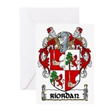 Riordan Coat of Arms Greeting Cards (Pk of 20)