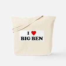 I Love BIG BEN Tote Bag