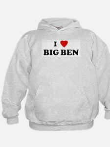 I Love BIG BEN Hoodie