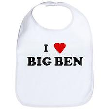 I Love BIG BEN Bib