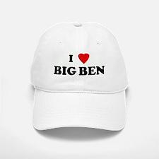 I Love BIG BEN Baseball Baseball Cap