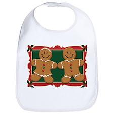 Gingerbread Couple Bib