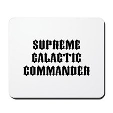 SG Commander Mousepad