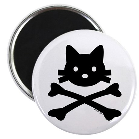 "Kitty X-Bones by Rotem Gear 2.25"" Magnet (10 pack)"