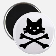 """Kitty X-Bones by Rotem Gear 2.25"""" Magnet (10 pack)"""
