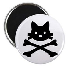 """Kitty X-Bones by Rotem Gear 2.25"""" Magnet (100 pack"""