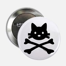 """Kitty X-Bones by Rotem Gear 2.25"""" Button (10 pack)"""