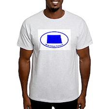 North Dakota BLUE STATE T-Shirt