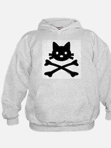 Kitty X-Bones by Rotem Gear Hoodie