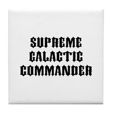 SG Commander Tile Coaster