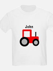 John - Red Tractor T-Shirt