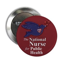 """NN for Public Health Dove 2.25"""" Button (10 pack)"""