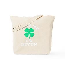 Funny Devyn Tote Bag