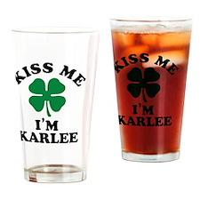 Cute Karlee Drinking Glass