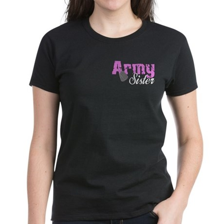 Army Sister Women's Dark T-Shirt
