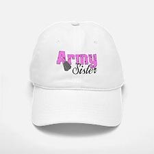 Army Sister Baseball Baseball Cap