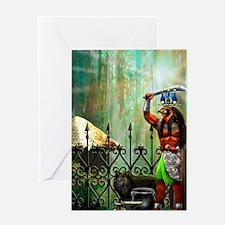 Unique Orisha Greeting Card
