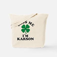 Cute Karson Tote Bag