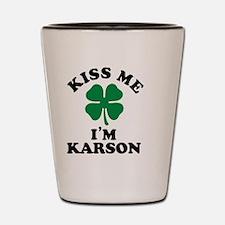 Unique Karson Shot Glass