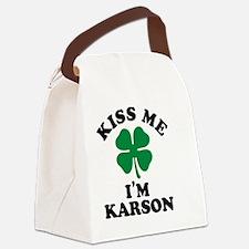 Unique Karson Canvas Lunch Bag
