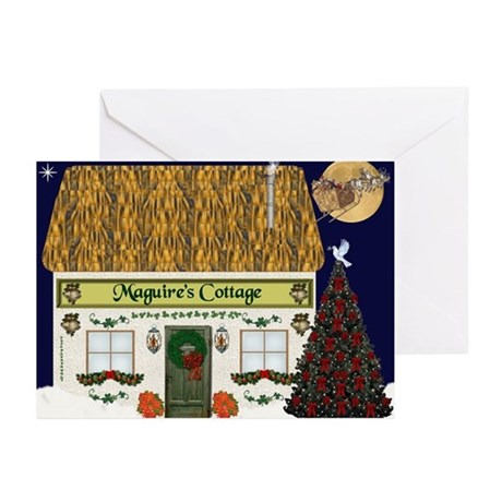Maguire's Cottage Christmas Cards (Pk of 20)