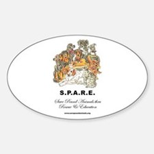 SPARE Oval Decal