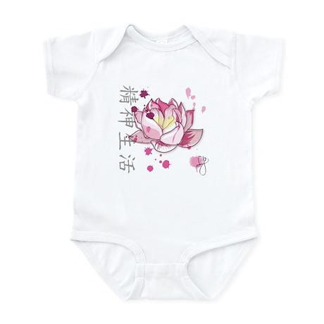 baby lotus Infant Bodysuit