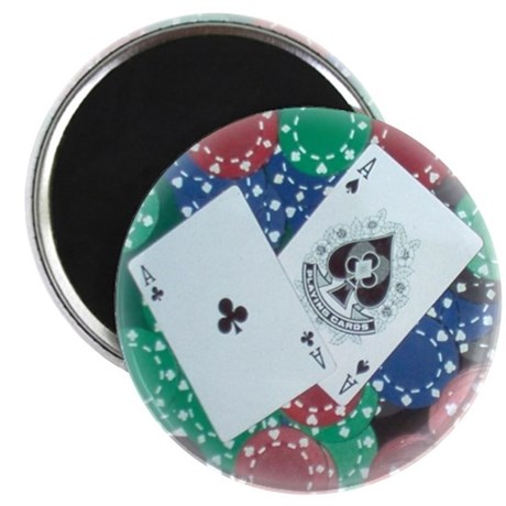 Poket Aces Card Protector Poker Magnet (100 pack)