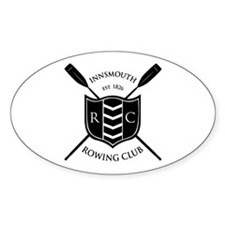 Innsmouth Rowing Club Oval Decal